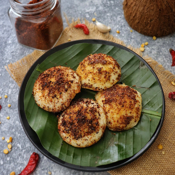 Yummy Idlies with RDP's Homemade Nallakaram