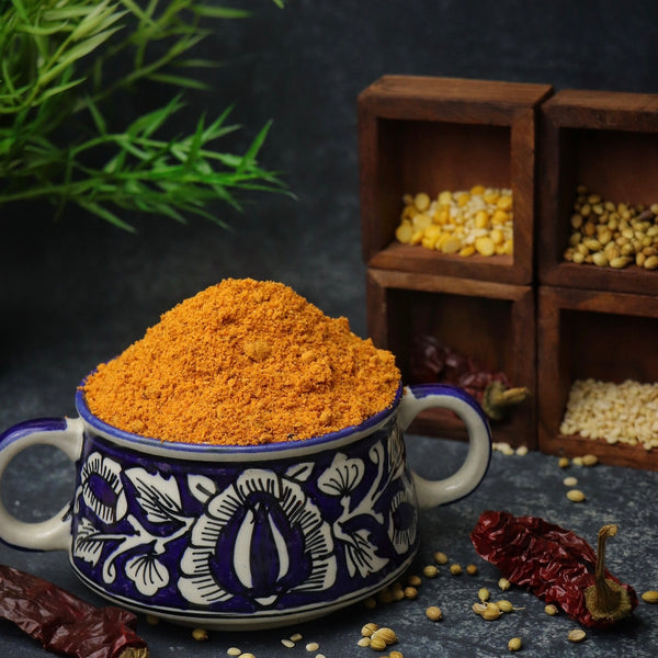 RDP Homemade Idly and dosa powder. Made with premium quality spices and grains.