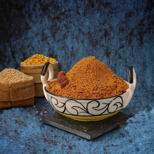 RDP's Homemade Podi chuntey made with Indian spices with zero preservatives or additives