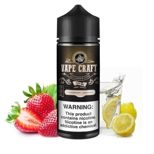 VAPE CRAFT - STRAWBERRY LEMONADE