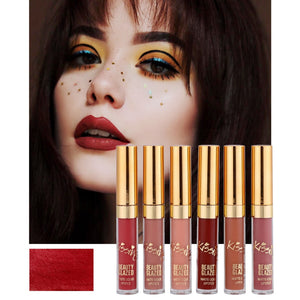 6Pcs/Set Liquid Lipstick