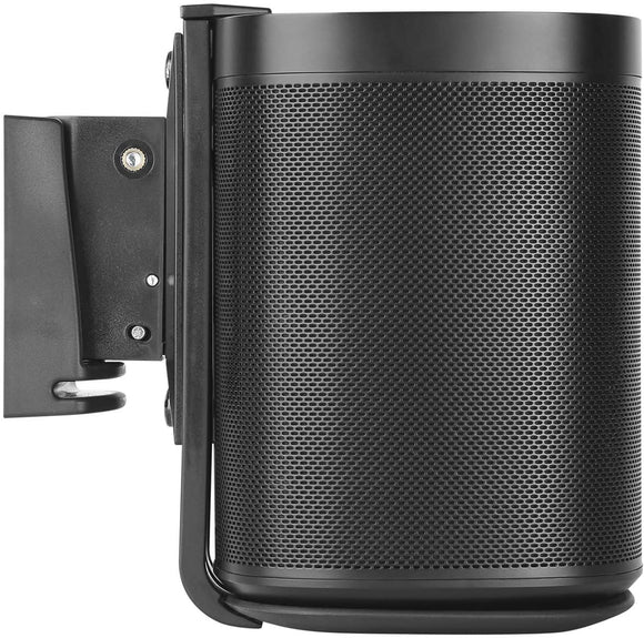 EVOS Speaker Wall Mount Black Compatible with Apple HomePod with Silicone Pad