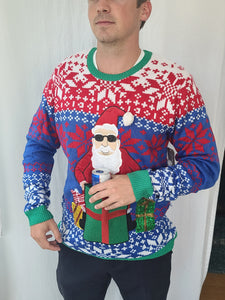 Santa Sweater with Front Pocket Christmas Sweater