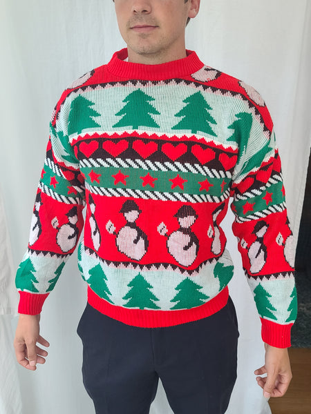 Retro late 80s early 90s Classic Christmas Sweater