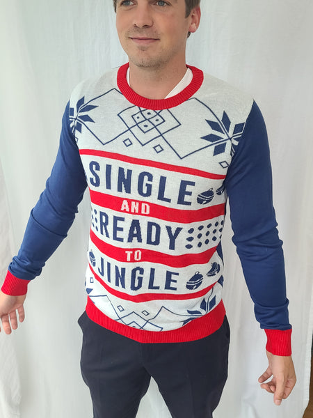 Single and Ready to Jingle Christmas Sweater