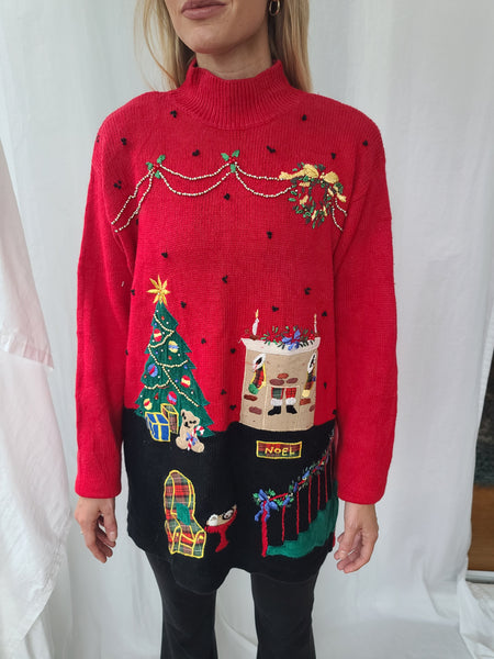 Christmas Inside the Home Sweater