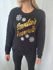Vintage Santa's Favorite Sweater