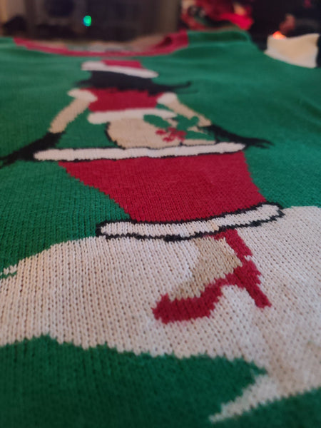 Santas Little Helper Christmas Sweater