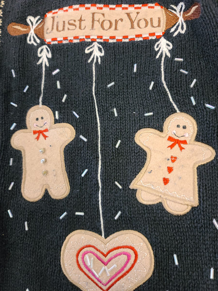 Sugar and Spice and Everything Nice Button Sweater