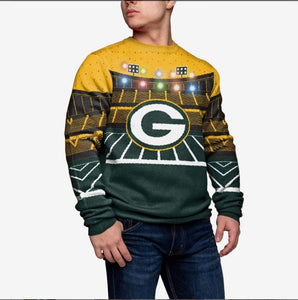 Green Bay Packers Light-up Bluetooth Sweater