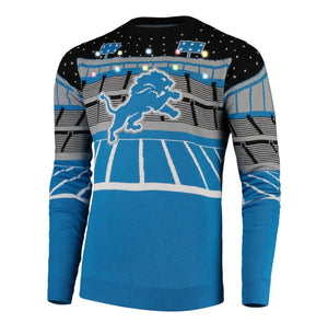 Detroit Lions Light-up Bluetooth Sweater