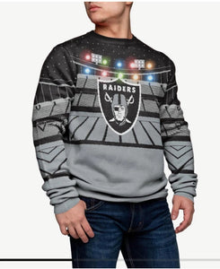 Raiders Light-up Bluetooth Sweater