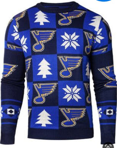 St. Louis Blues Holiday Sweater