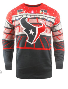 Houston Texans Light-up Bluetooth Sweater