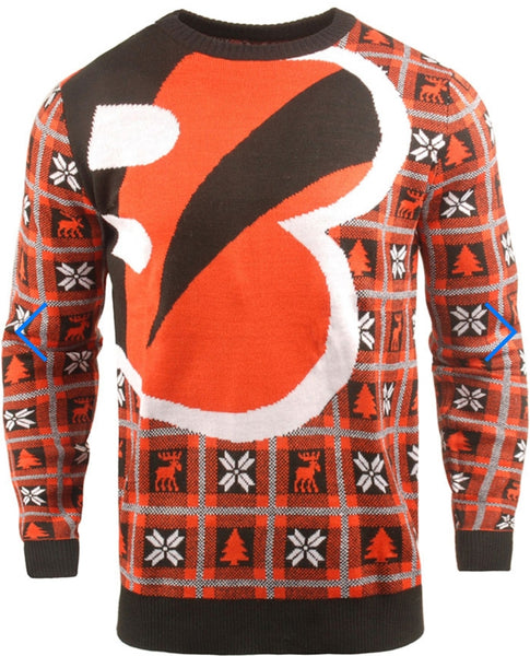 Cincinnati Bengals Big Logo Sweater