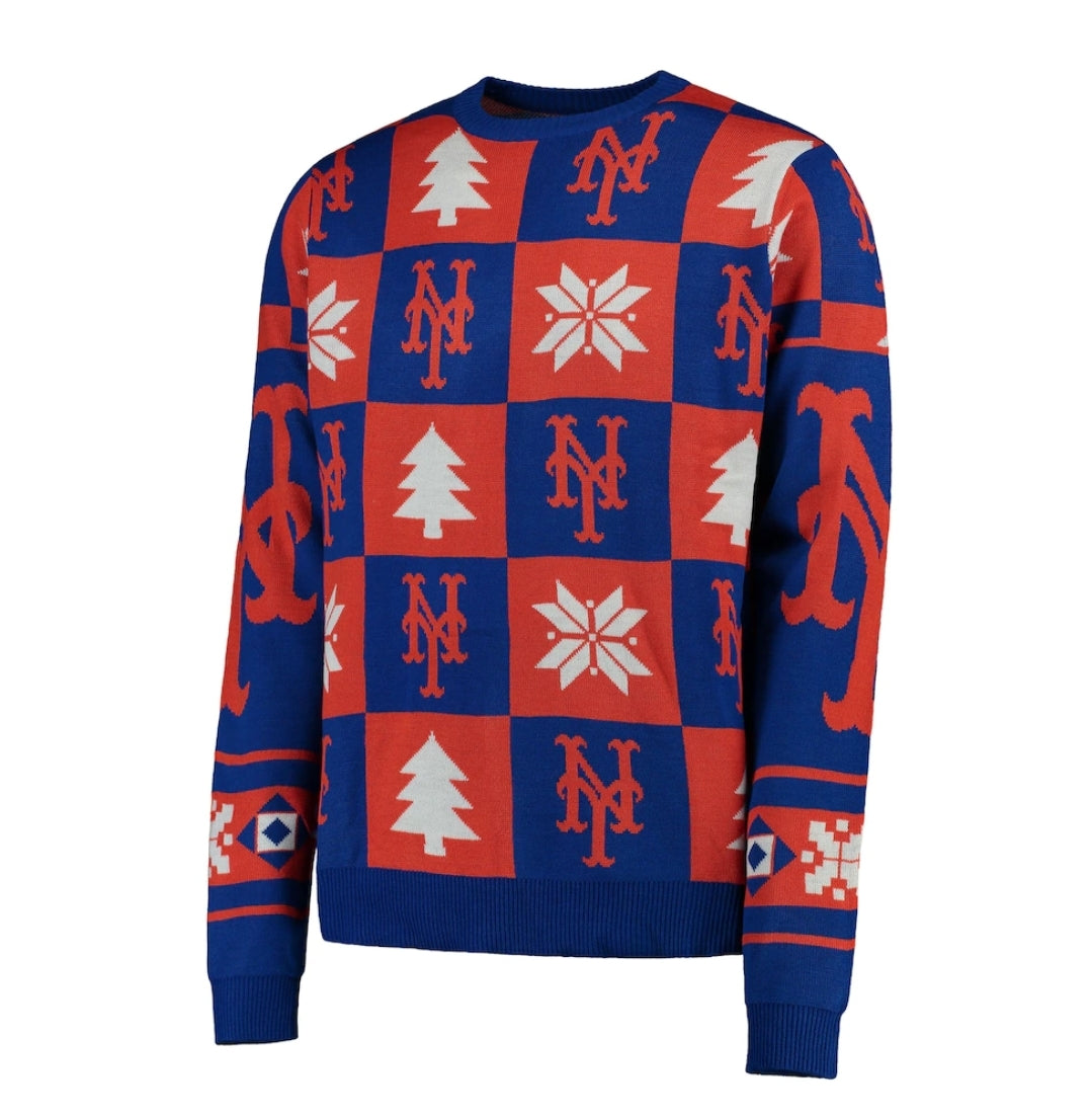 New York Mets Holiday Sweater