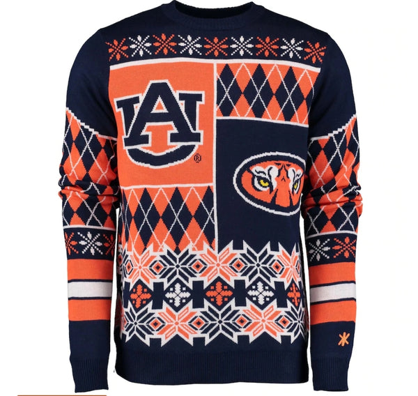 Auburn Tigers Holiday Sweater