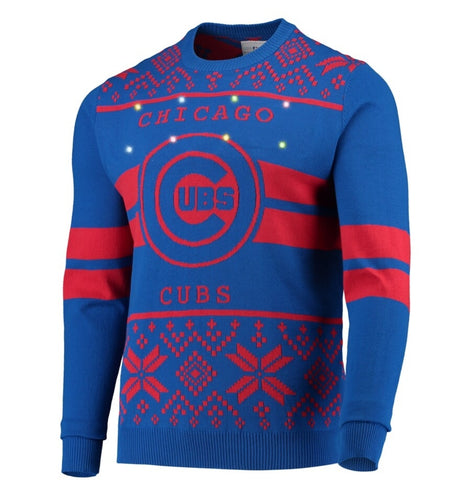 Chicago Cubs Light-up Sweater