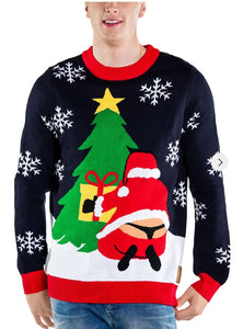 Tipsy Elves Men's Winter Whale Tail