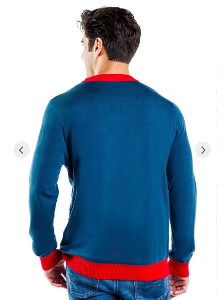 Tipsy Elves Men's Peace on Earth Sweater