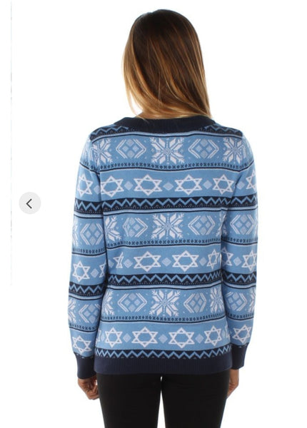Tipsy Elves Women's Night Before Hanukkah Sweater
