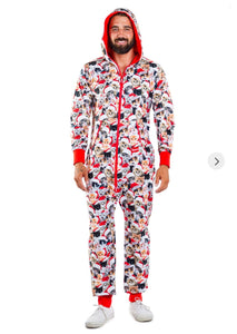 Tipsy Elves Meowy Catmus Jumpsuit