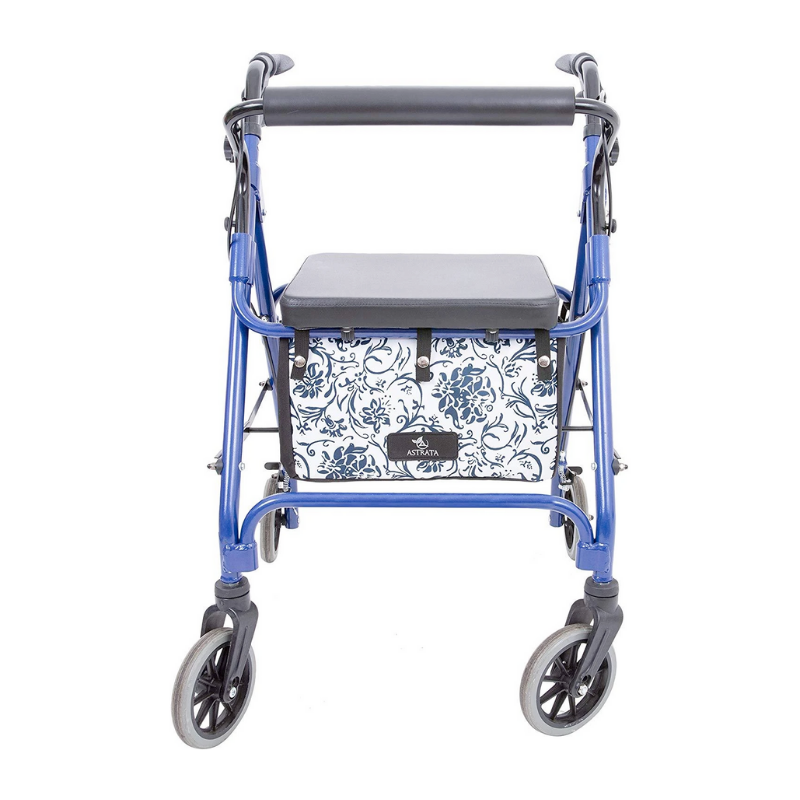 Extra Large Rollator Underseat Bag - Blue
