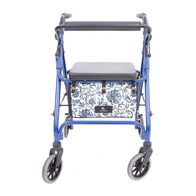 Extra Large Rollator Underseat Bag-Blue - Astrata Health