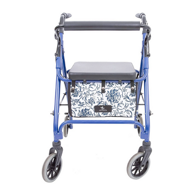 Extra Large Rollator Underseat Bag - Blue - Astrata Health Solutions