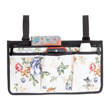 Load image into Gallery viewer, Wheelchair Side Bag Arm Rest Pouch - Flower - Astrata Health