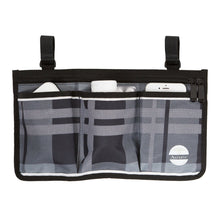 Load image into Gallery viewer, Wheelchair Bag Set - Armrest Bag and Backpack-Gray Tartan - Astrata Health