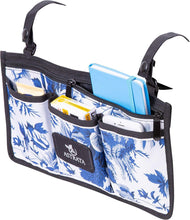 Load image into Gallery viewer, Wheelchair Side Bag Arm Rest Pouch - Blue - Astrata Health