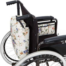 Load image into Gallery viewer, Wheelchair Bag Set - Armrest Bag and Backpack-Floral - Astrata Health