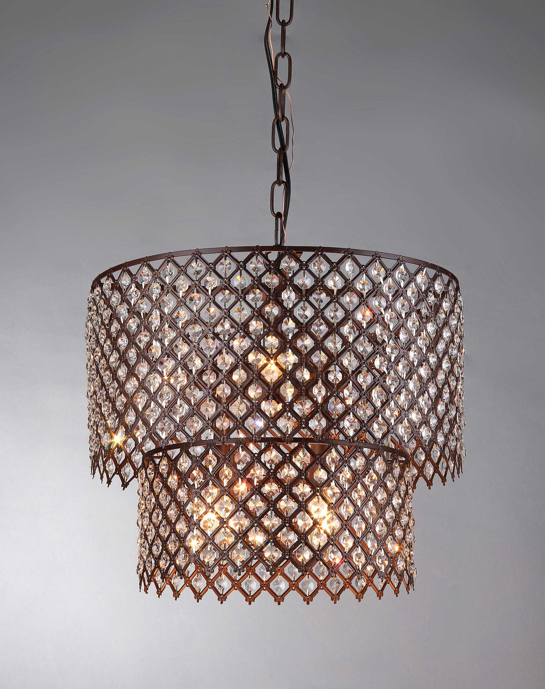 American Antique Bronze Chandelier