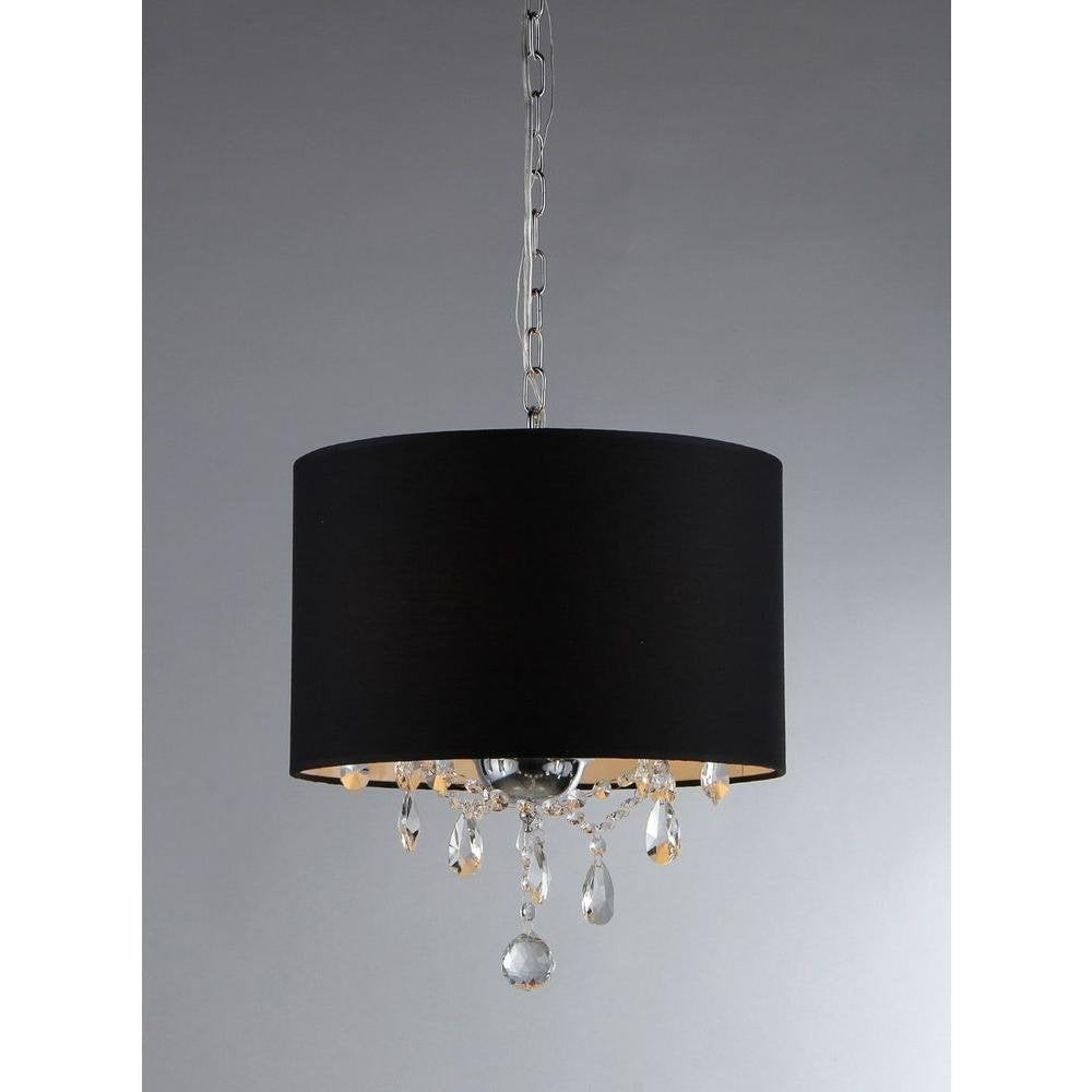 American Brim 3-light Crystal Chandelier