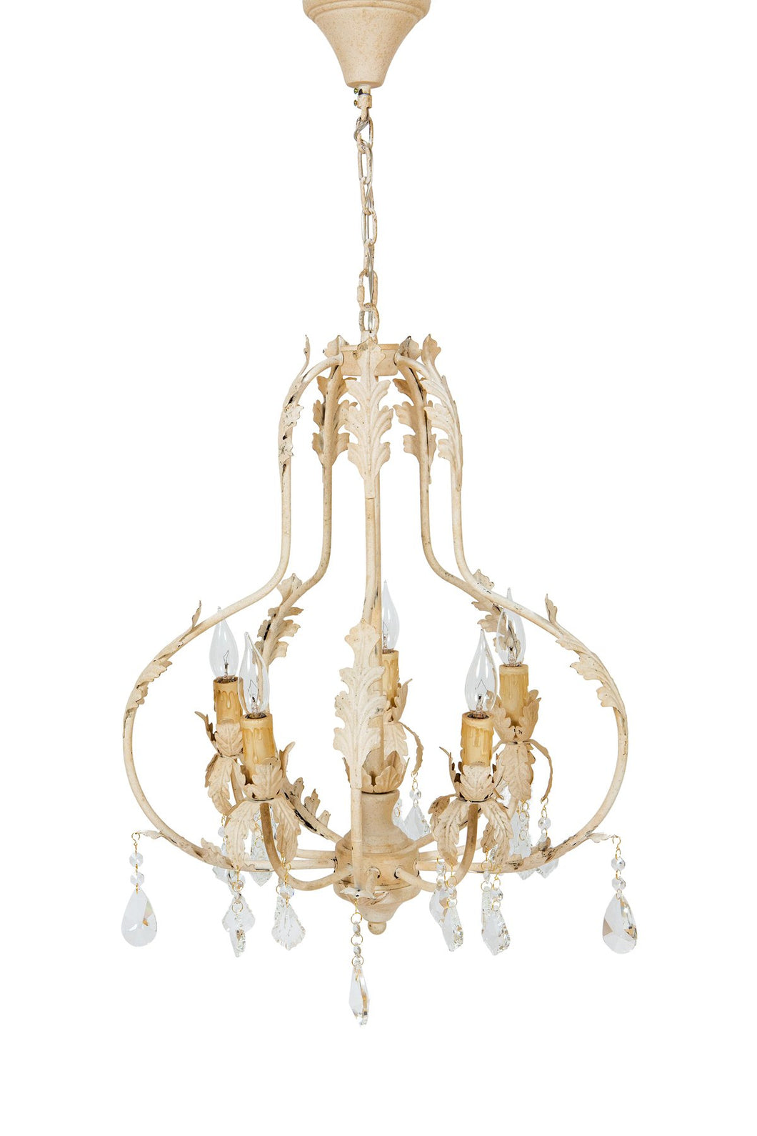 ML15909 Berkeley Crystal Vintage Chandelier
