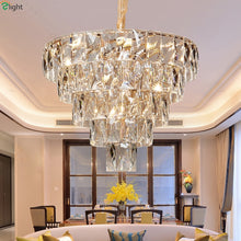 Load image into Gallery viewer, Modern Lustre Luxury Crystal Led Chandeliers