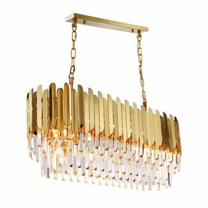 Luxury Modern Crystal Rectangle Chandeliers
