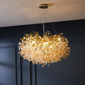French modern luxury crystal chandelier