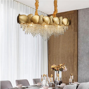 New modern luxury crystal chandelier