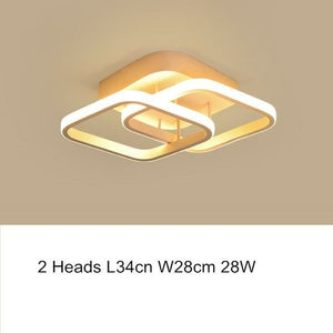 American Modern Contemporary Acylic Led Dimming Ceiling Chandelier