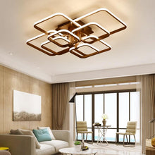 Load image into Gallery viewer, American Modern Contemporary Acylic Led Dimming Ceiling Chandelier