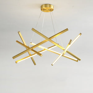 Modern Simple Acrylic Chandeliers