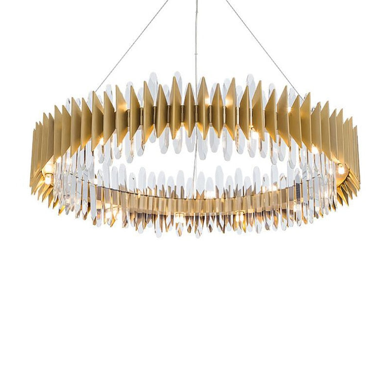 jmmxiuz New Crystal Chandelier Modern