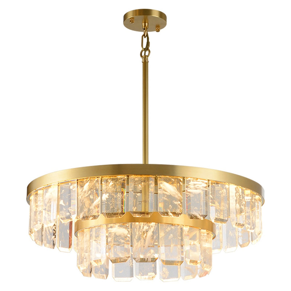 new modern crystal luxury chandelier
