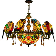 Load image into Gallery viewer, European-Style Luxury Creative Parrot Chandelier