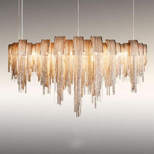 Modern Luxury Tassel Led Chandelier