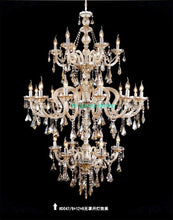 Load image into Gallery viewer, European crystal large chandelier