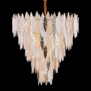 European Nordic Modern Luxury Crystal Chandelier