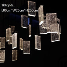 Load image into Gallery viewer, New LED crystal chandelier